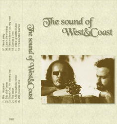 The sound of West&Coast tape cover